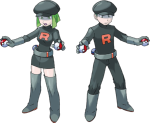 FireRed LeafGreen Team Rocket grunts
