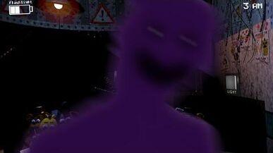 Purple Man Jump Scare