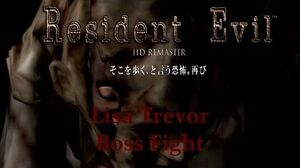 "Resident Evil HD Remaster - ""Lisa Trevor"" - Boss Fight Full 1080p, 60 FPS"