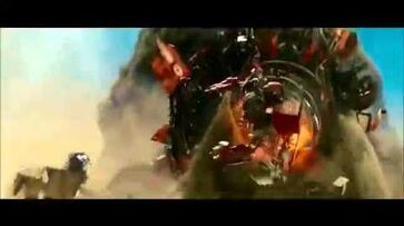 Transformers revenge of the fallen- Devastator VS Mudflap And Skids
