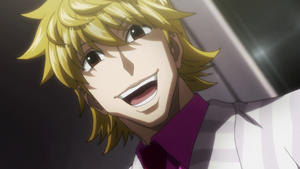 Pariston laughing