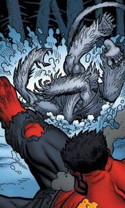 Red Hulk vs Wendigo 05