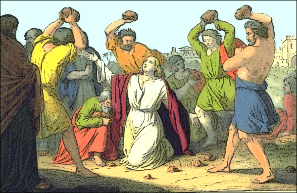 Image result for The stoning of St Stephen
