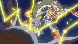 Zudomon vs Mammothmon