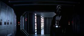 Darth Vader corridor
