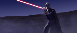 Dooku desert Force push