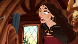 Gothel groans with disgust