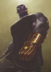 Infinity Gauntlet concept art 9