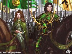 Renly Margaery