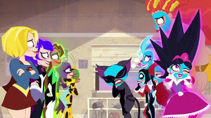 Super Hero Girls and Super Villain Girls in Part 2