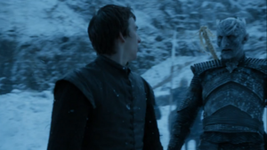 Night's King and Bran Stark