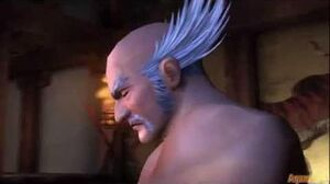 Tekken Hybrid Tekken Tag Tournament HD - Heihachi Mishima ending - HD 1080p