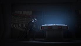 Vader kneels