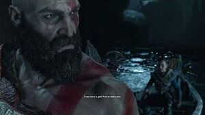 God of War 4 - Kratos Reveals To Atreus He's a God From Sparta (God of War 2018) PS4 Pro