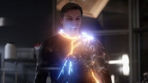 Hunter harnesses Barry's Speed Force