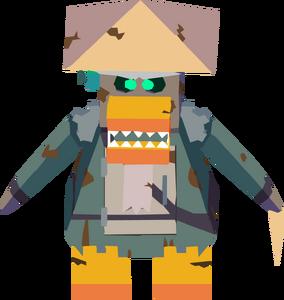 Sensei Bot corrupted sprite
