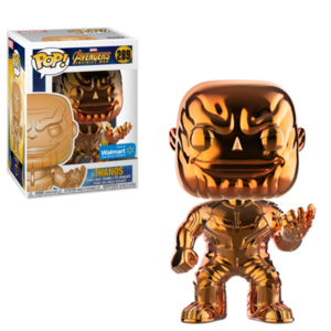 Thanos Orange Chrome POP