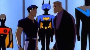 Batman Beyond The Batsuit escapes