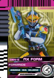 Form Ride Den-O Axe