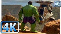 Hulk vs Helicopters Hulk (2003) 4K ULTRA HD