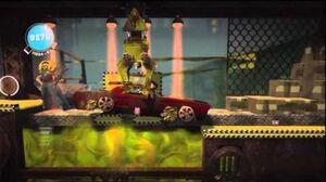 LittleBIGPlanet (720p HD) Walkthrough Part 52 - Subway - Initial & Aced