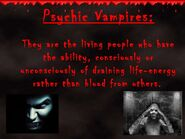 Psychic-vampire