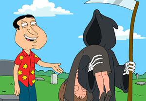 Quagmire & Joan with Death