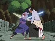 Sasuke vs Danzo
