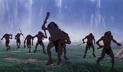 Sub-humans on rampage