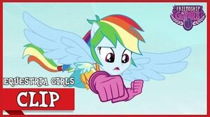 The Tri-Cross Relay The Motocross Round MLP Equestria Girls Friendship Games! HD