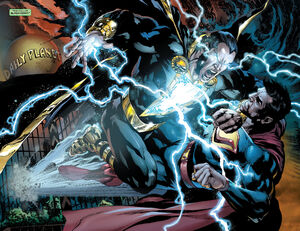 Ultra-Man vs Black Adam