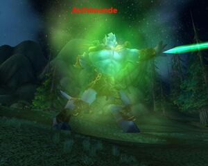 Archimonde,Mannoroth and Kiljaeden (2)