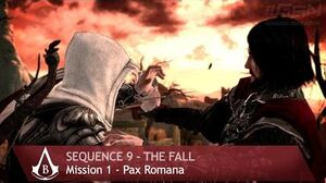 Assassin's Creed Brotherhood - Sequence 9 - Mission 1 - Pax Romana (100% Sync)