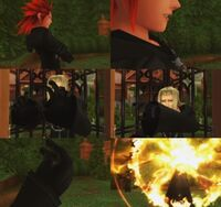 Axel killing Vexen