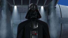 Darth Vader arriving