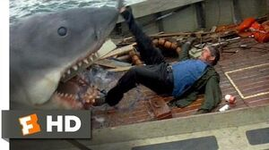 Jaws (1975) - Quint Is Devoured Scene (9 10) Movieclips