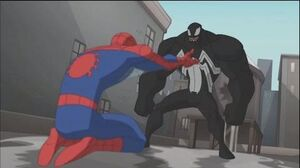 Spectacular Spider-Man - Spidey Defeats Venom