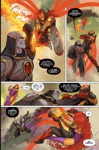 Darksied fight Justice League Odyssey