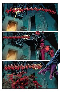 Deadpool run away