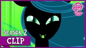 "MLP FiM – Queen Chrysalis Revealed ""A Canterlot Wedding"" HD"
