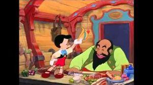 Pinocchio and Stromboli