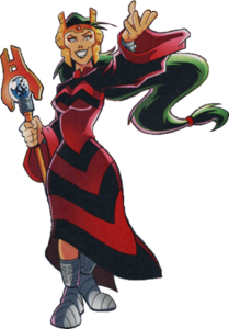 Regina Ferrum the Iron Queen