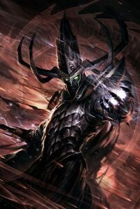 The Dark Elf Witch King