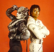 The Supreme Leader and Captain Eo