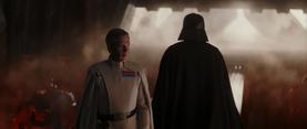 Vader departs