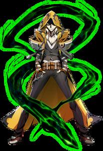 Yūki Terumi (Centralfiction, Character Select Artwork)