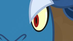 Close-up on Grogar's left eye S9E8