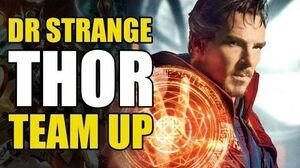 Doctor Strange & Thor Team Up (Marvel MAX Thor Vikings)