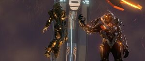 H4 John-117 Didact first encounter