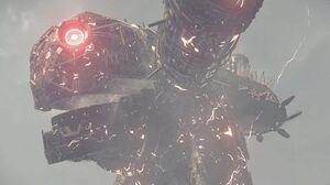 Nier Automata Boss Fight 7 Goliath EMP (1080p 60fps)